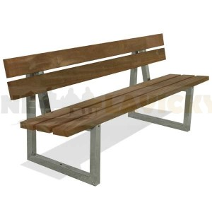 Parková lavička Porta- kovové lavičky