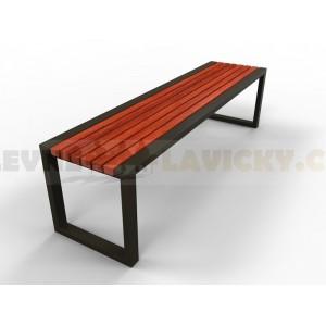 Kovové lavičky Dakote