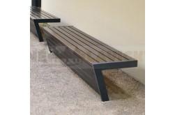Parková lavička Esco - kovové lavičky