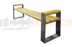 Parková lavička Vale- model s područkou
