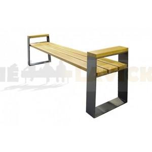 Kovovvá lavička Setra