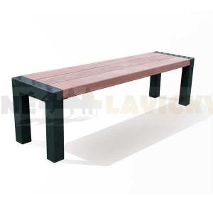 Kovová lavička Lomelo