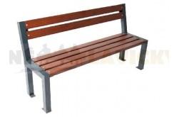 Lavička kovová Trend - kovové lavičky