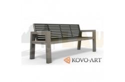 Ocelové lavičky model Beko