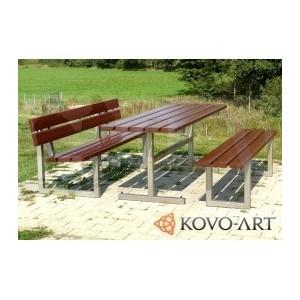 Zahradní lavičky se stolem set Porta