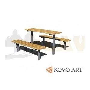 Lavičky se stolem set Standard