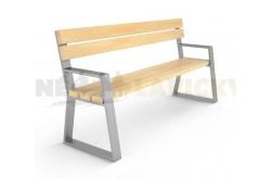 Kovová lavička Nice
