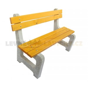 Betonová lavička Elegance