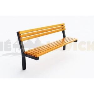 Kovové lavičky City